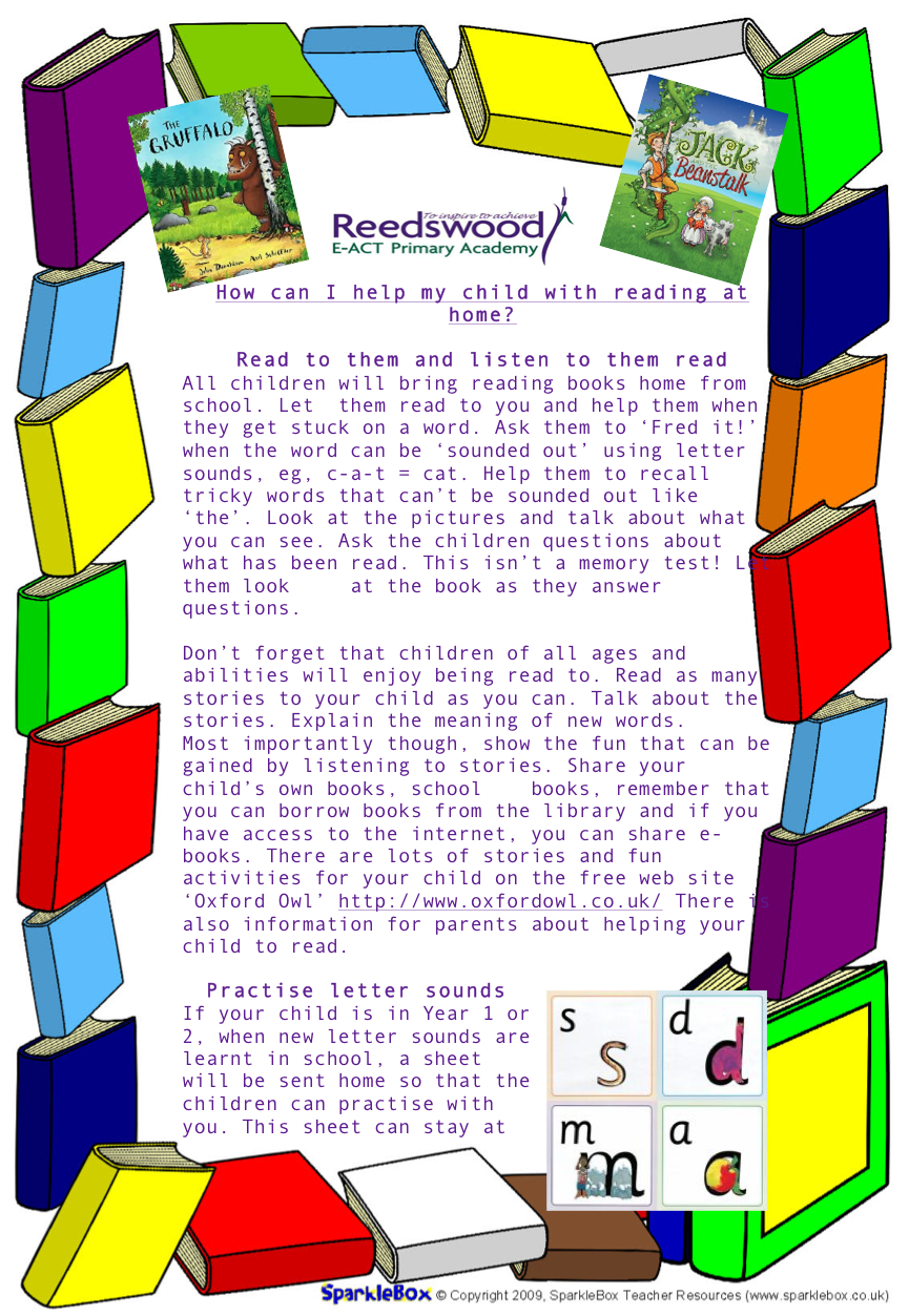 Reading - Reedswood E-ACT Primary Academy